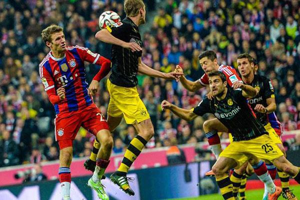 Munich vs Dortmund Final
