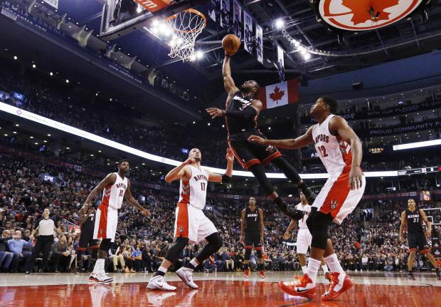Raptors vs Heat 2016