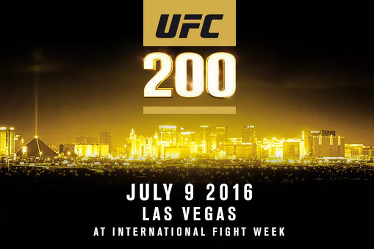 UFC 200 Odds