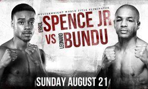 Spence vs Bundu Fight