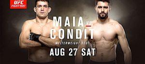 Maia vs Condit Card