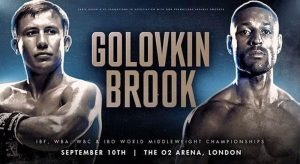 Gennady Golovkin vs. Kell Brook