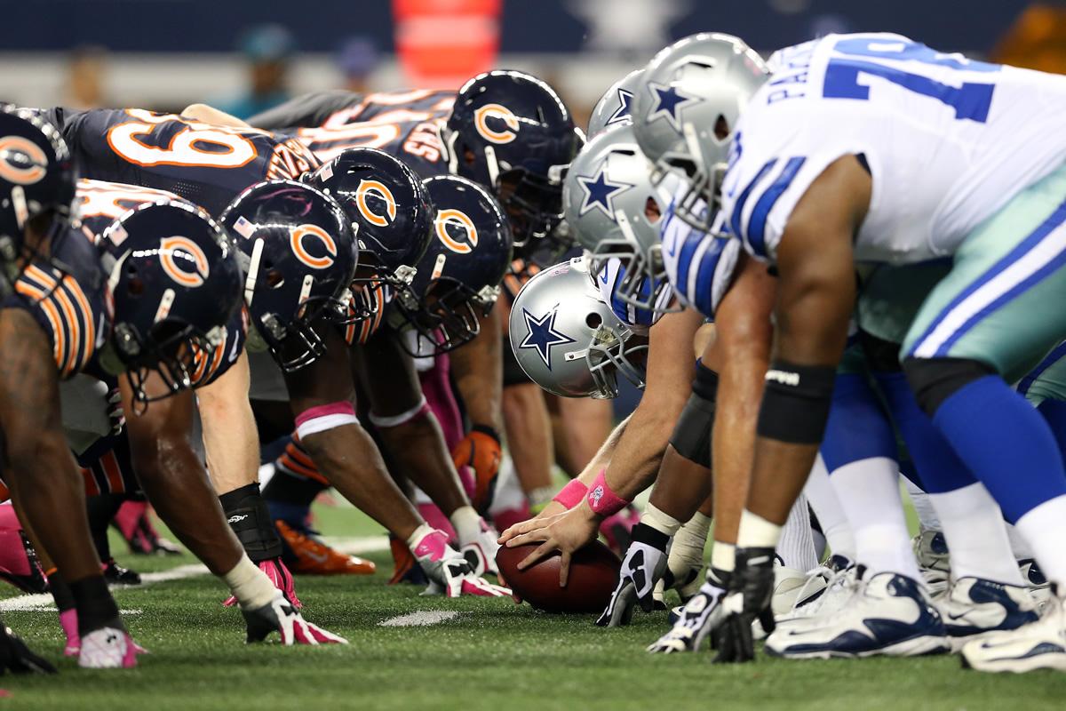 Dallas Cowboys Vs Chicago Bears