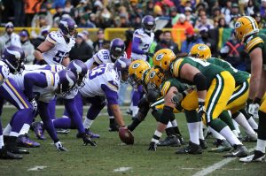 Packers vs. Vikings 2016