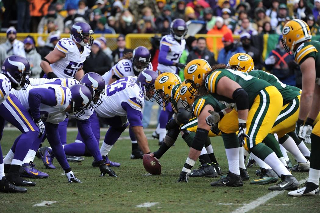 Packers vs. Vikings 2016