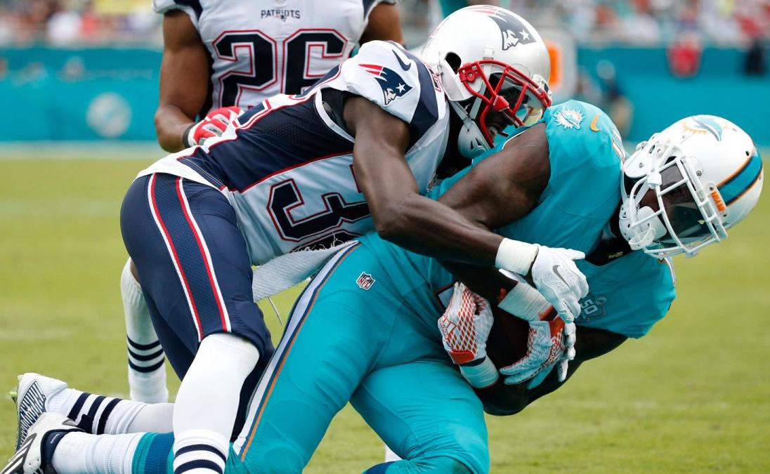 Patriots vs Dolphins 2016