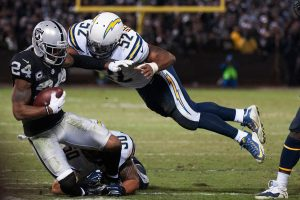 San Diego Chargers Vs Oakland Raiders