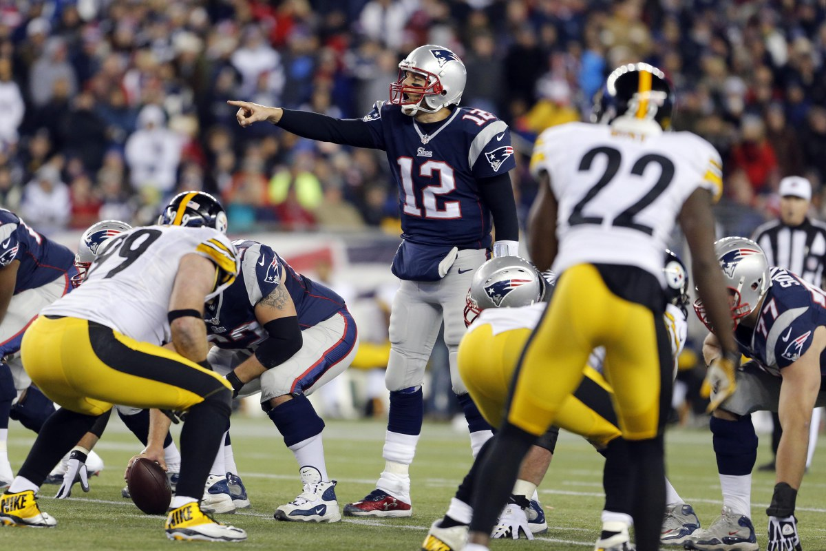 Patriots at Steelers 2016