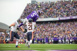 Vikings vs Bears 2016