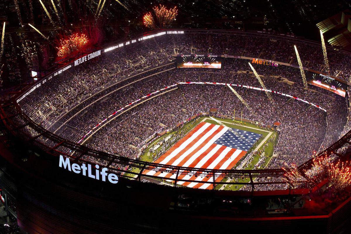 MetLife Stadium in New Jersey