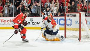 panthers vs blackhawks 2016