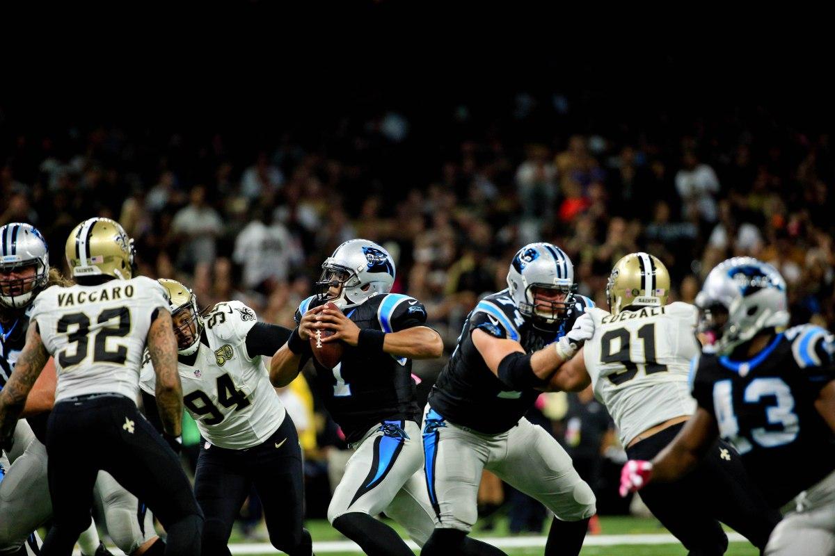 Saints vs Panthers 2016