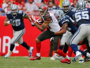 Cowboys vs Buccaneers 2016