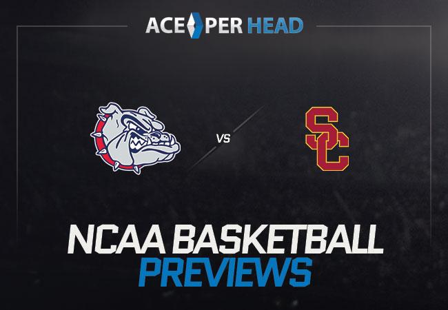 Gonzaga Bulldogs vs USC Trojans
