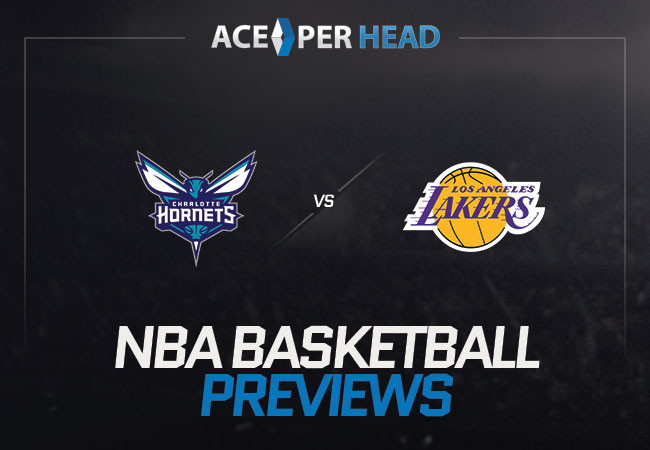 Charlotte Hornets vs Los Angeles Lakers