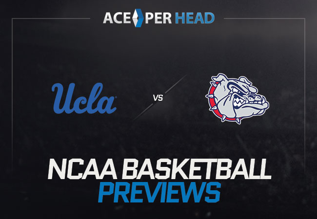 UCLA Bruins vs the Gonzaga Bulldogs