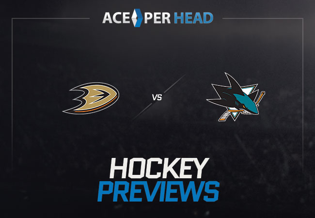 Anaheim Ducks vs San Jose Sharks