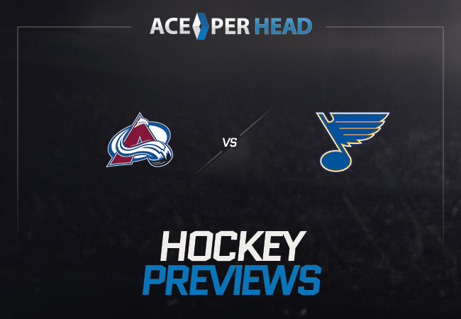 Colorado Avalanche vs St Louis Blues