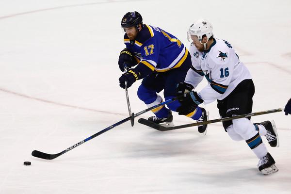 Sharks vs Blues 2016