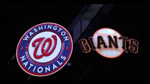 Nationals at Giants Odds