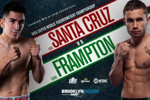 Leo Santa Cruz vs. Carl Frampton