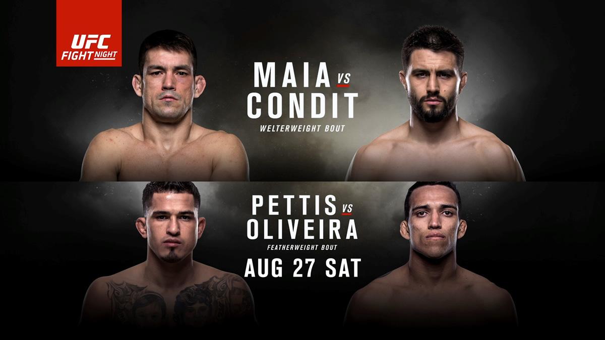 UFC FOX 21 Predictions