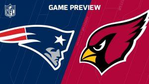 Patriots vs. Cardinals 2016