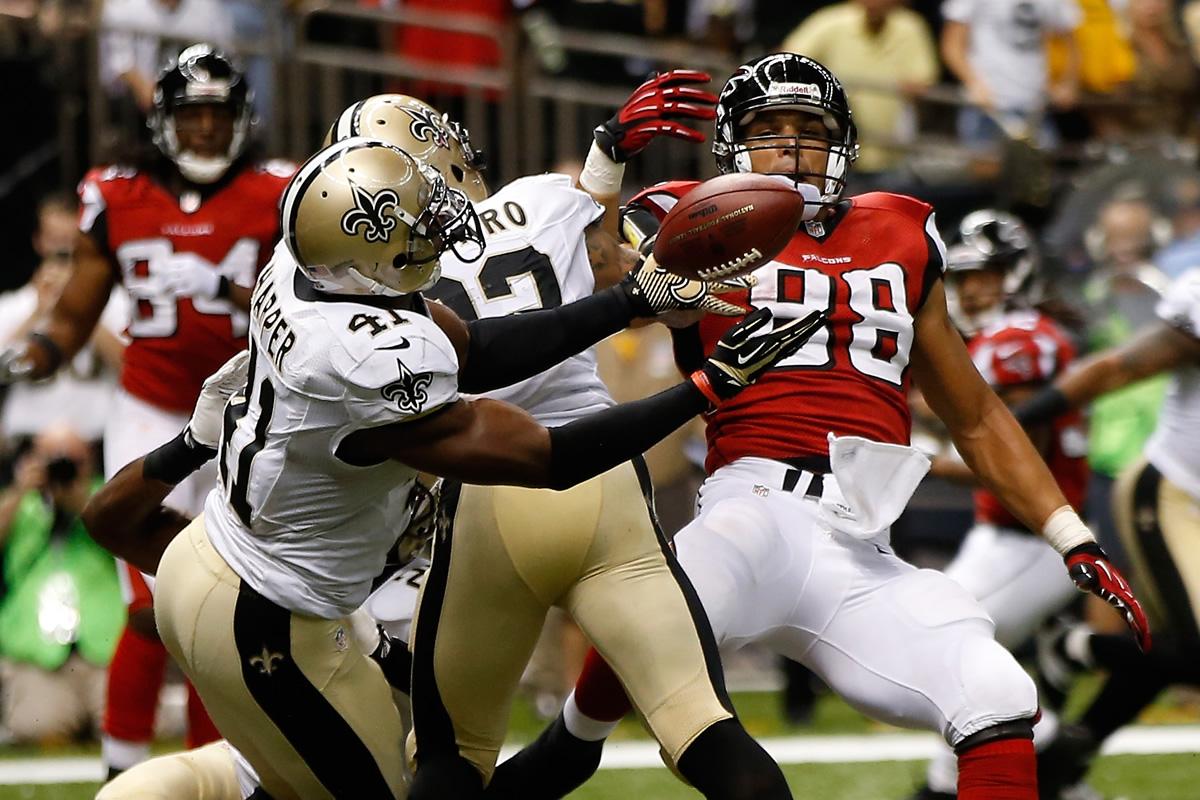Falcons vs Saints Odds