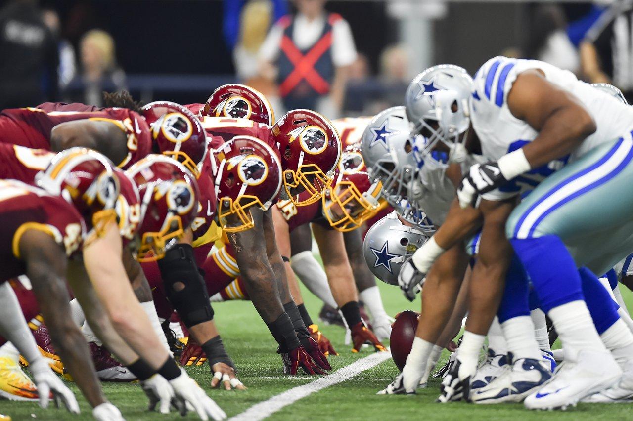 Cowboys vs Redskins 2016