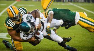 Packers vs Eagles 2016
