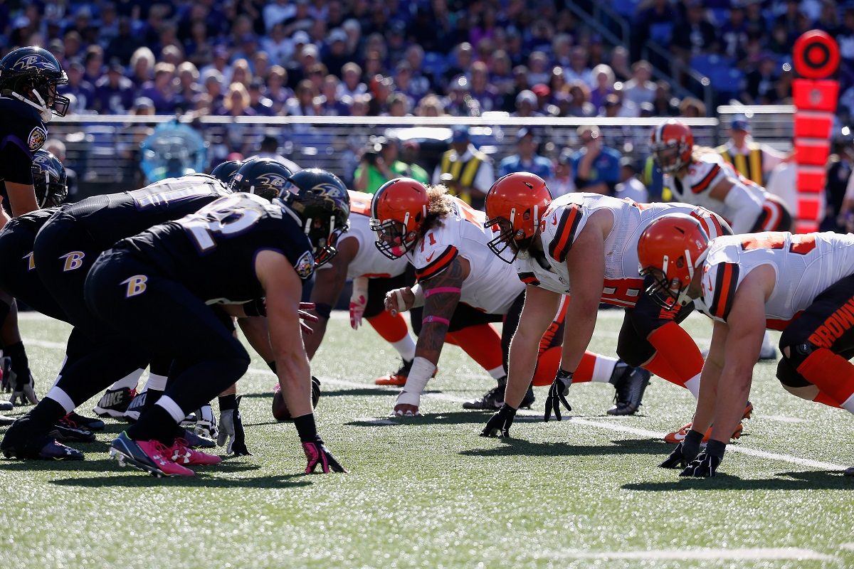 Cleveland Browns vs Baltimore Ravens