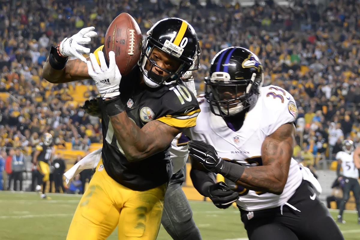 Steelers vs Ravens 2016