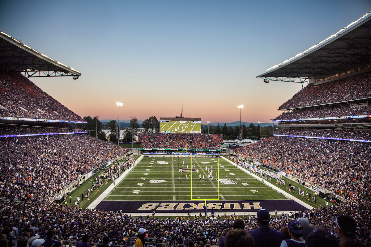 Husky Stadium 2016