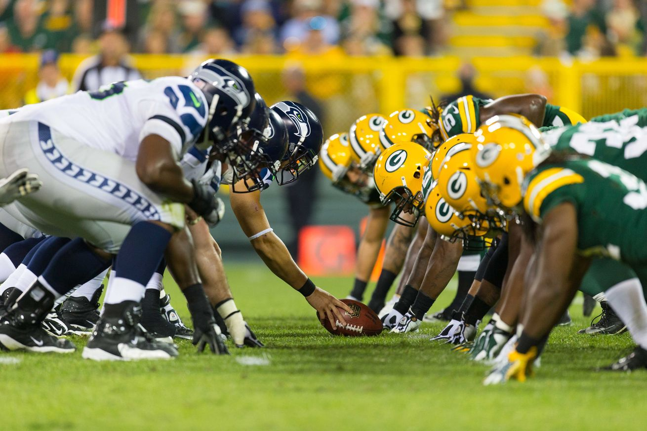 Seahawks vs Packers 2016