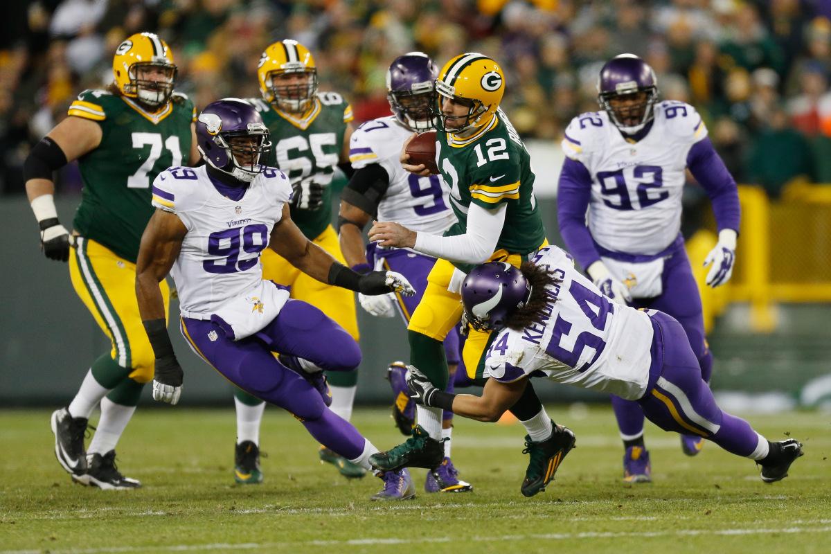 Vikings vs. Packers 2016
