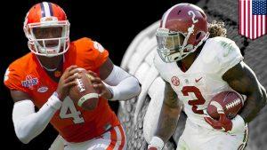 Alabama Crimson Tide vs. Clemson Tigers