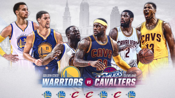 Cavaliers at Warriors Final Odds