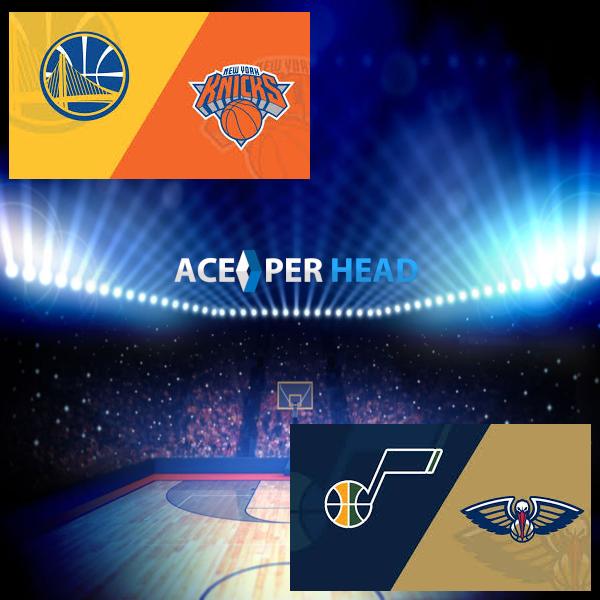 NBA Tonight: Pelicans vs Utah, Knicks vs Warriors preview, prediction