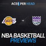 The Los Angeles Lakers vs the Sacramento Kings
