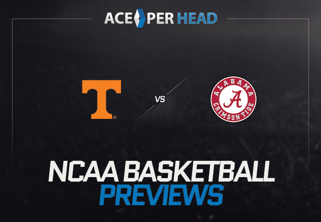 Tennessee Volunteers host the Alabama Crimson Tide