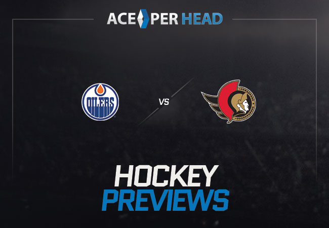 Edmonton Oilers host the Ottawa Senators