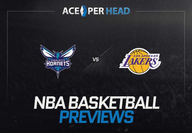 Charlotte Hornets vs Los Angeles Lakers