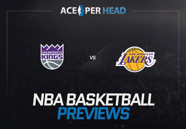 Sacramento Kings vs the Los Angeles Lakers