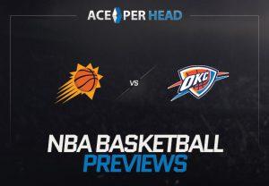 Oklahoma City Thunder vs the Phoenix Suns