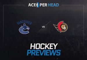 Vancouver Canucks vs Ottawa Senators