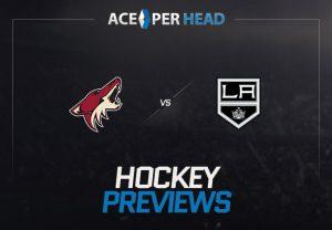 Arizona Coyotes vs Los Angeles Kings