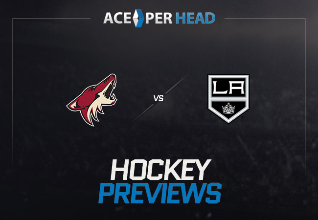 Arizona Coyotes vs Los Angeles Kings