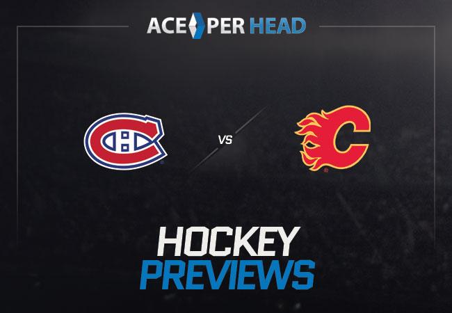 Montreal Canadiens vs Calgary Flames